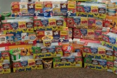 Cereal donation from Stow Presbyterian